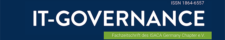 IT-Governance - Fachzeitschrift des ISACA Germany Chapter e.V.